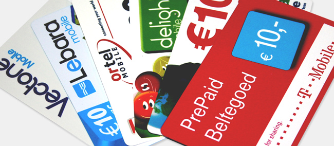 Prepaid Top Up Cards